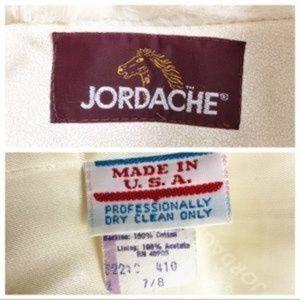 Jordache Jackets & Coats - Jordache Vintage Faux Fur Coat Full Zip Ivory 7/8
